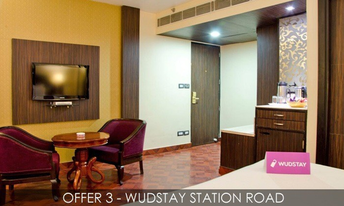 Stay for 2 at Wudstay at a Choice of Locations with Breakfast
