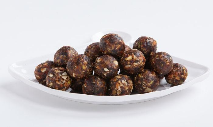 Nut N Date Laddoo &  Almondy Choco Pops at your door step