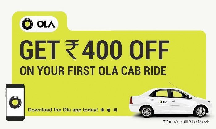 Cab discount coupons hyderabad