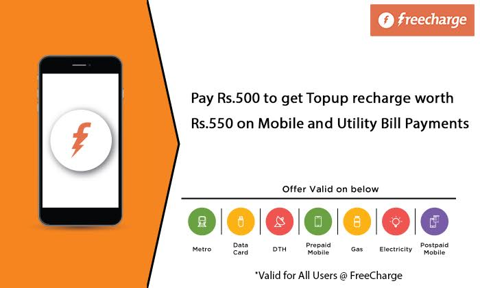 Freecharge coupons for dth recharge april 2018